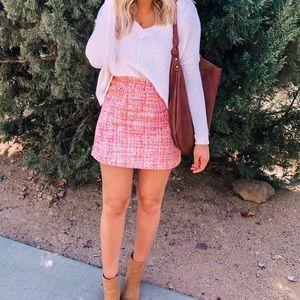 Brand new chicwish tweed skirt